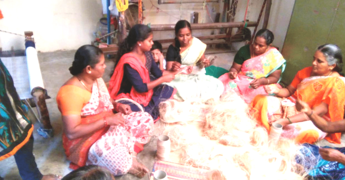 Saris From Bananas: TN Weaver Creates 25 Natural Fibers, Wins National Record!