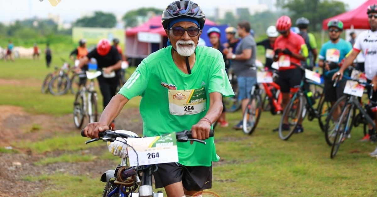 He Battled Epilepsy at 62. 23 Years Later, He Is 86 and Has Cycled 4,00,000 Kms!