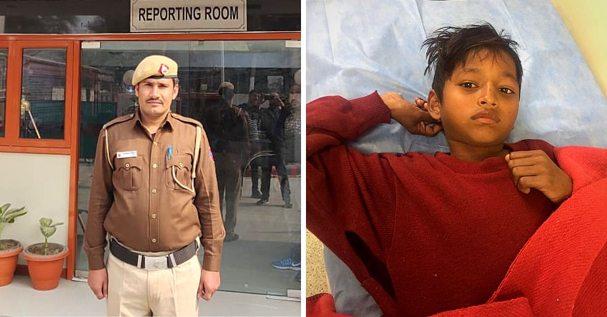 True Hero: Meet The Delhi Cop Who Risked His Life to Save A Drowning Child