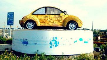 ewaste recycling upcycling art creation hari mumbai