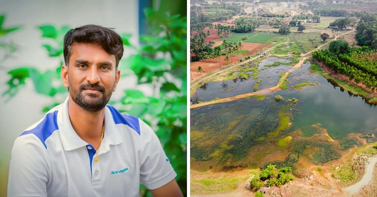 Bengaluru Techie Single-handedly Revives Lake in 45 Days, Plans to Save 45 More by 2025!