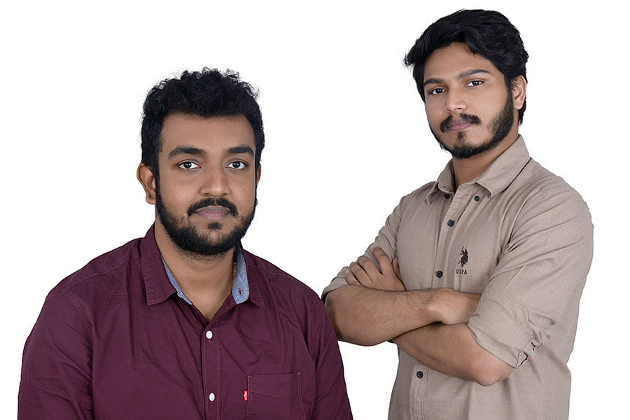 (From Left to Right) Co-Founders of Gegadyne Energy Jubin Varghese and Ameya Gadiwan.