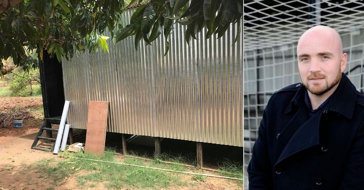 British Man Builds Eco-Home for Rs 1.5 Lakh in Karnataka, Donates It to Farmhand