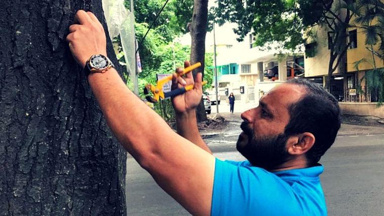 pune trees protection nails green crusader inspiring (1)