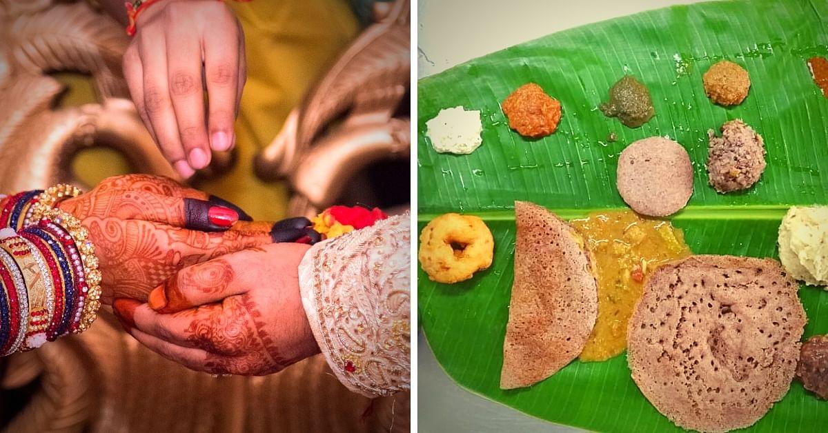 No Plastic, No Paper, All-Organic Millet Feasts: Pondy Couple Sets #WeddingGoals!