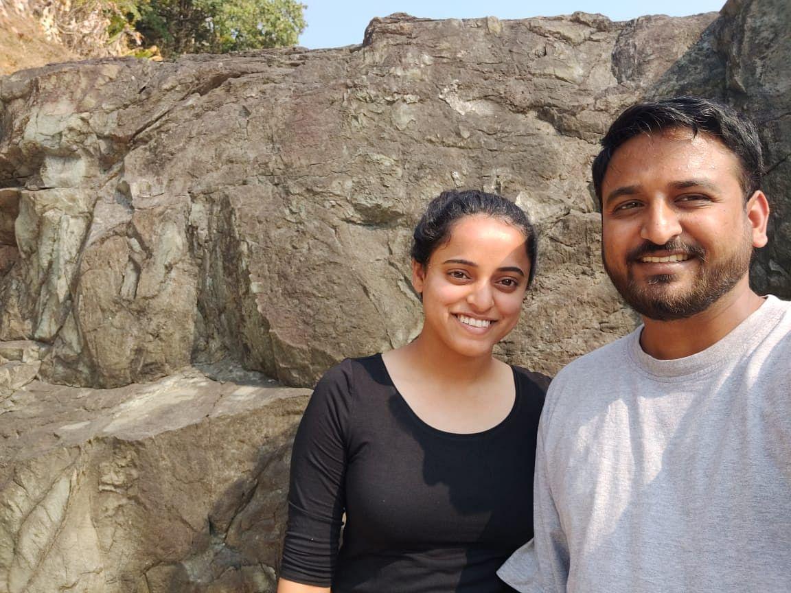 Dhruvang and Priyanka