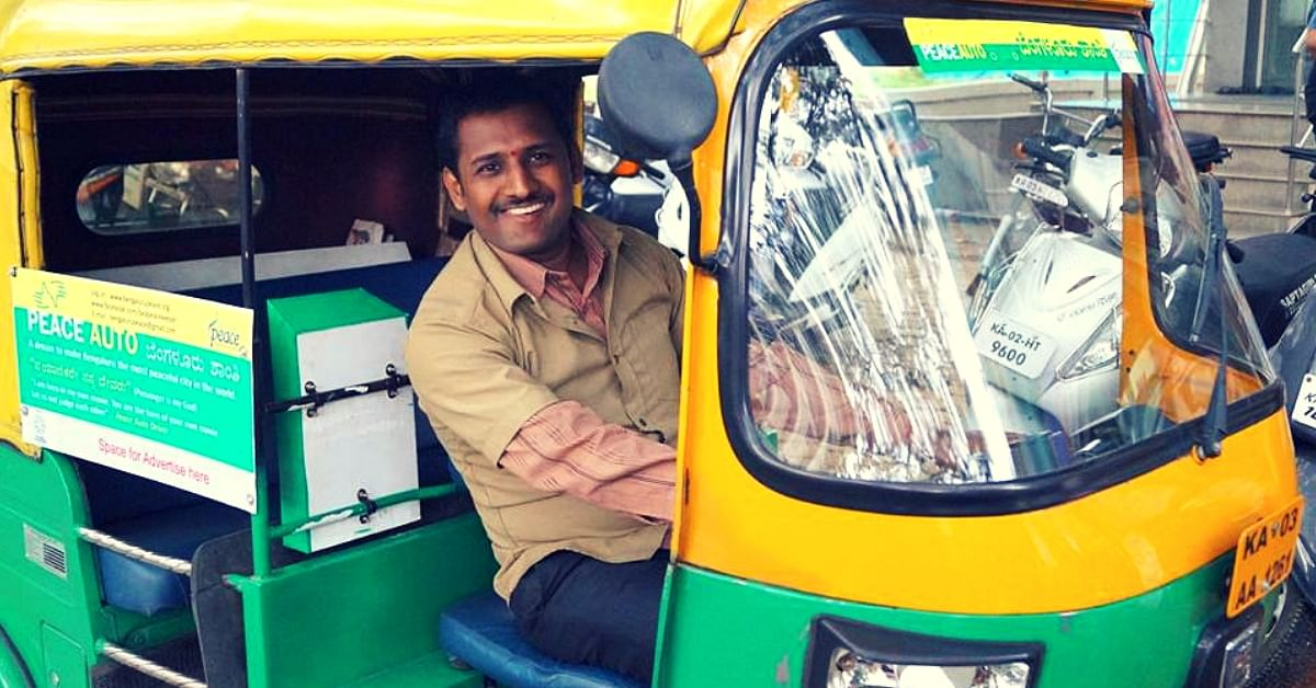 No Rudeness, No Refusals, No Overcharging: Meet the Peace Auto Drivers of Bengaluru