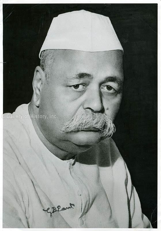 Govind Ballabh Pant. (Source: Twitter)