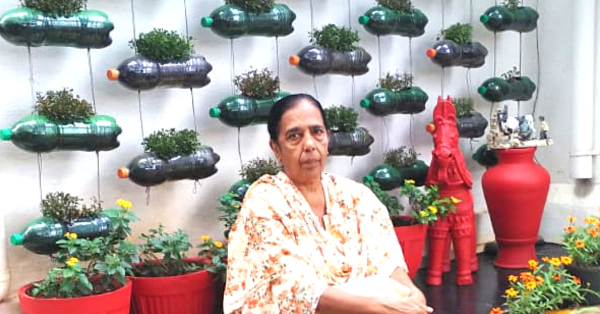 Bottles to Old Shoes: Mysuru Woman's Flower Garden Gets Her 11 Awards in a Row!