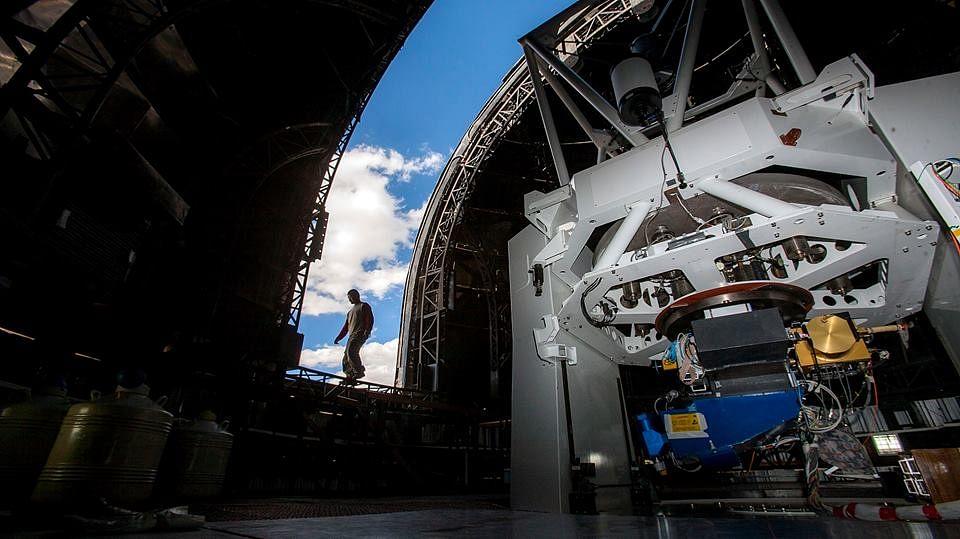 Inside the observatory. (Source: Facebook/Wirati Keeratikanchai)