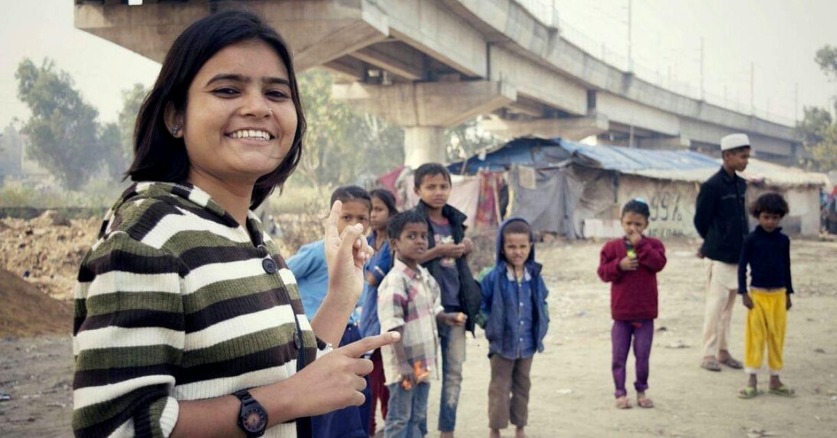 Overcoming Drug Addiction & Child Abuse, Noida Duo Transforms Lives of 300+ Slum Kids!