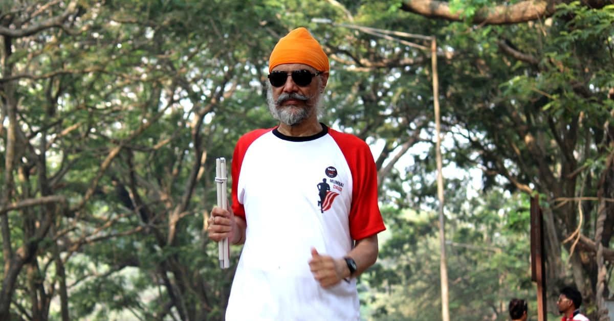 Facing Loss of Vision & Depression, Mumbai Man Now Climbs Mountains & Runs Marathons!