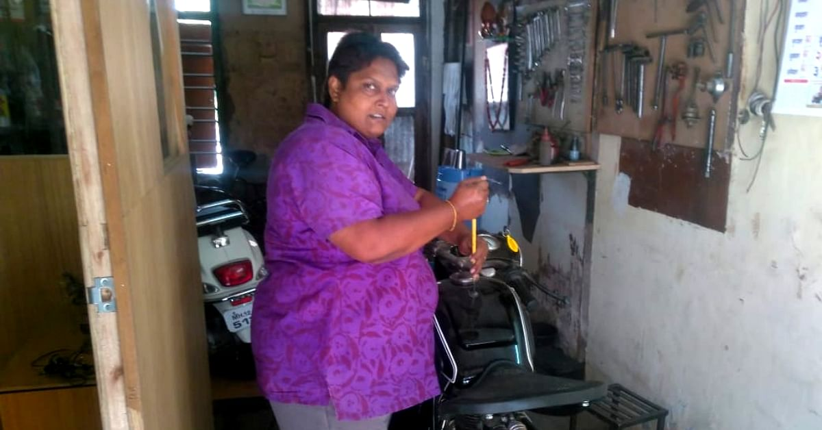 This Gritty Pune Mechanic Has Been 'Fixing' Patriarchal Prejudices for 30 Years!