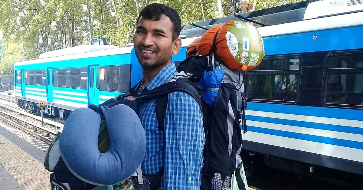 Meet 'Vishnu Da Gama', the Man Who Circumnavigated the Earth on Foot in 3 Years!