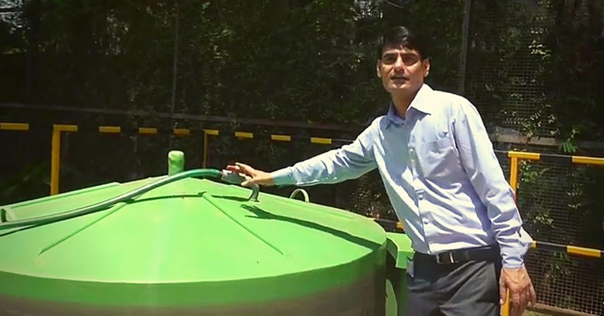 Jharkhand Man Installs Biogas Plant in Balcony, Slashes LPG Bill by