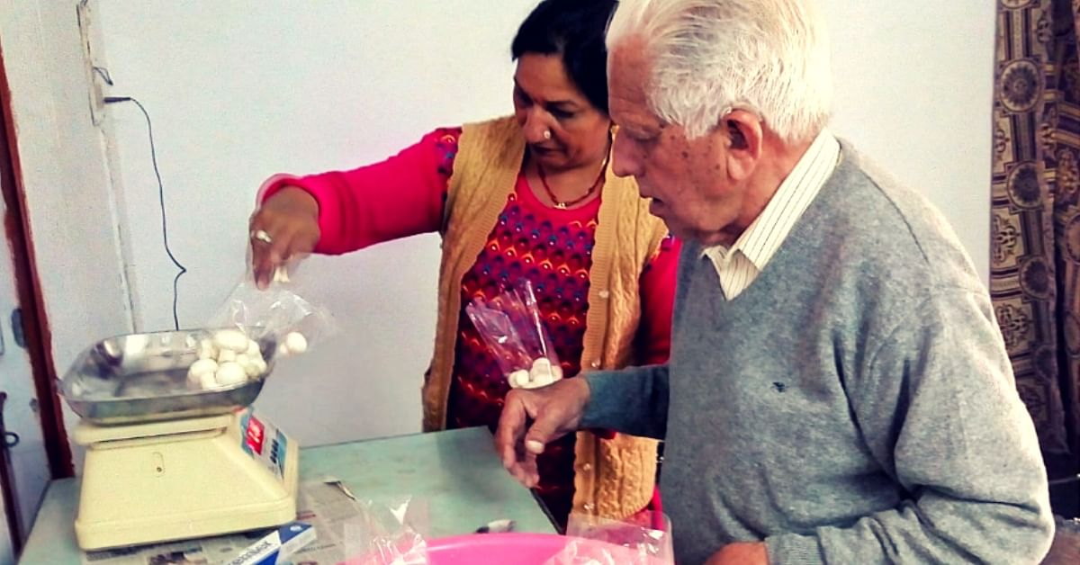 At 91, This Army Veteran Turned to Mushroom Farming. The Reason Will Move You!