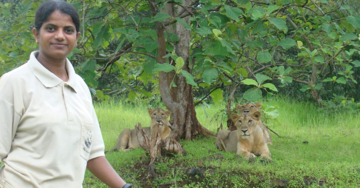Redefining Courage: Gir's 1st Woman Guard Has Rescued 1000+ Animals in 12 Years!