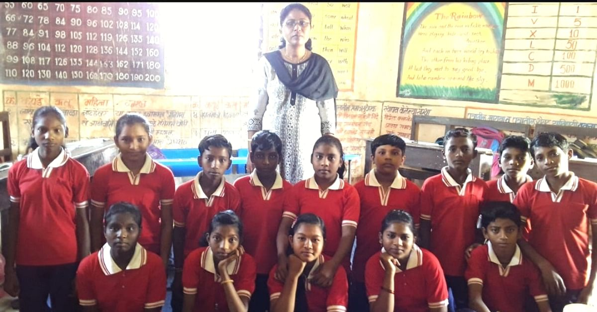 This Incredible Maha Teacher Takes a 3.5 Km Walk & a Boat Ride to Reach School Daily