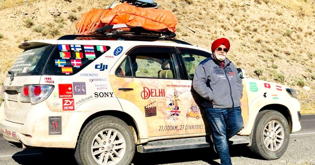 40000 Kms, 30 Countries, 148 Days: 60-YO Shows It's Never Too Late to Chase Dreams!
