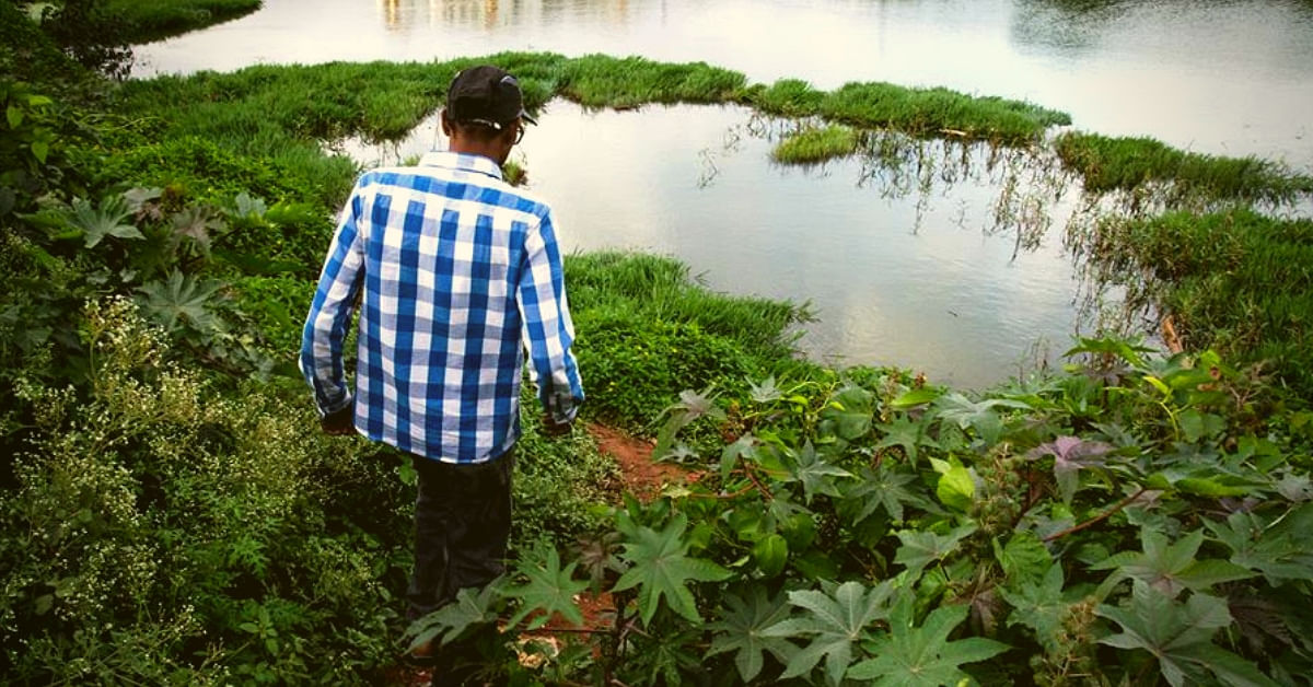 Working Weekends, B'luru Techie Has Singlehandedly Cleaned 14 Acres of a Lake!