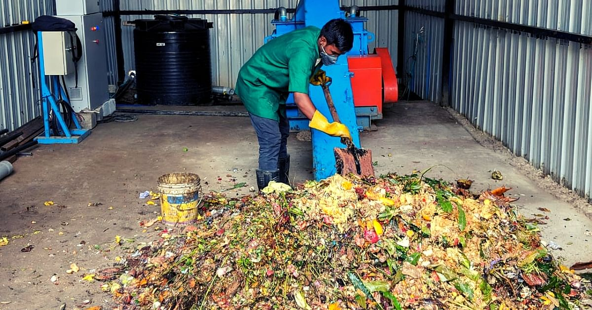 B'luru Residents Turn Kitchen Waste Into 100 Kg of Biogas, Help Eatery Cook 3,000 Meals/Day!