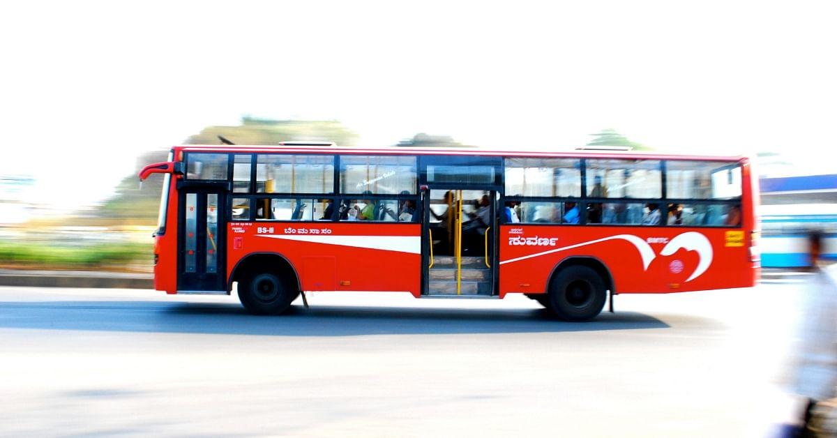 Green Ride: 59-YO BMTC Driver Grows Mini Garden Inside Bus, Wins Hearts of Passengers!
