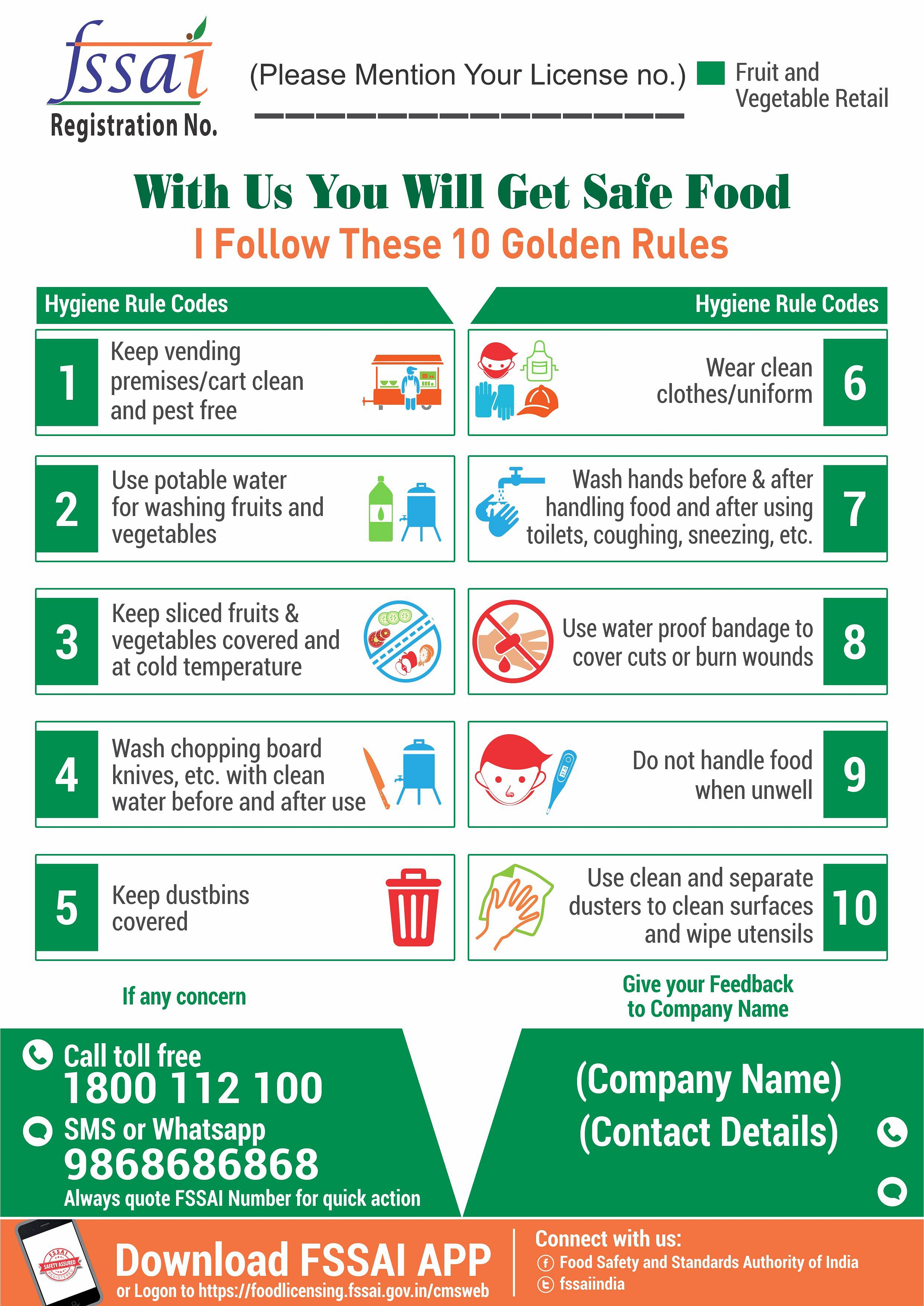 Fssai S New Rules On Food Safety Norms Will Make You Happy