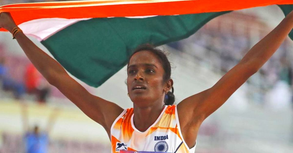 Losing Her Dad & Coach Couldn't Stop Her From Winning India's First Gold at Asian Athletics C'ships!