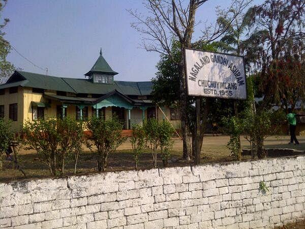 Nagaland Gandhi Ashram (Source: Twitter)