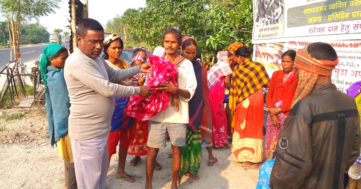 Bengal Driver Distributes 4000 Pairs of Clothes to the Needy, Elderly Every Week!