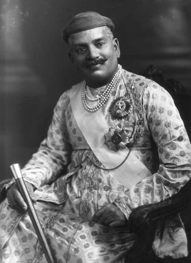 Sayajirao Gaekwad III, the Maharaja of Baroda in 1919. (Source: Wikimedia Commons)