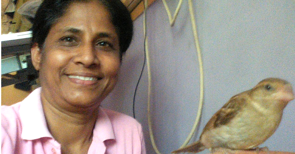 Chennai's Sparrow Queen is Trying to Bring the Little Birds Back to the City!