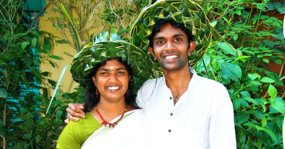 10 Years, 5000 trees & an Organic Paradise: Kerala Couple's Love Story Will Wow You!
