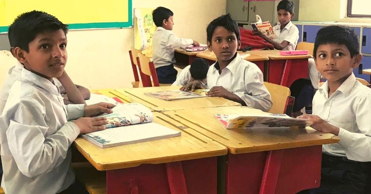 Private School in Noida Opens Door to Poor Kids, Educates Them After School Hours!