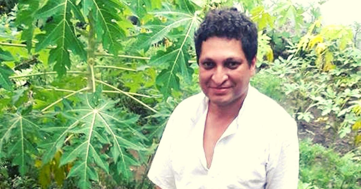 IIT/IIM Alumni Quits Cushy Job, Helps 400 MP Farmers Grow Organic 'Food Forests'!