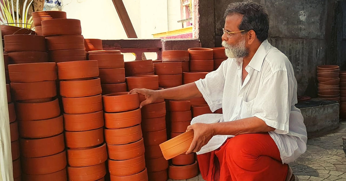 This 70-Yo Kerala Man Spent Rs 8 Lakh to Buy 10k Plus Pots to Quench the Thirst of Birds!