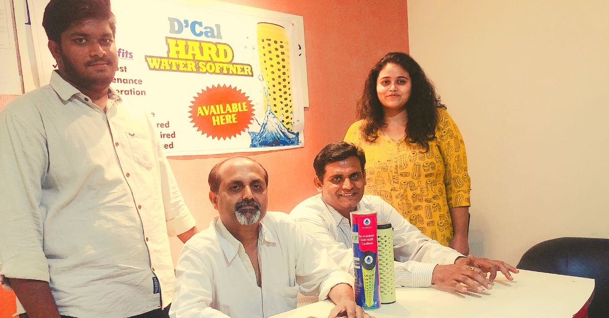 Hyderabad Duo Invents Device That Turns Hard Water Soft for 1/10th the price!