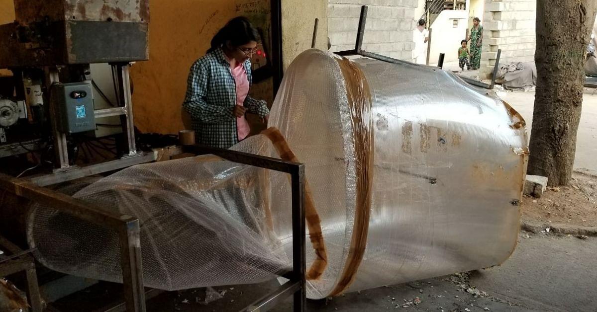 23-YO Bengaluru Woman Invents Machine That Segregates Waste Within Minutes!