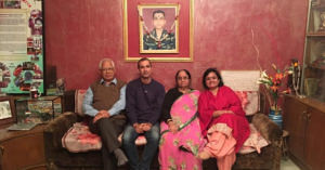 Jammu man visits family martyrs indian army heartwarming