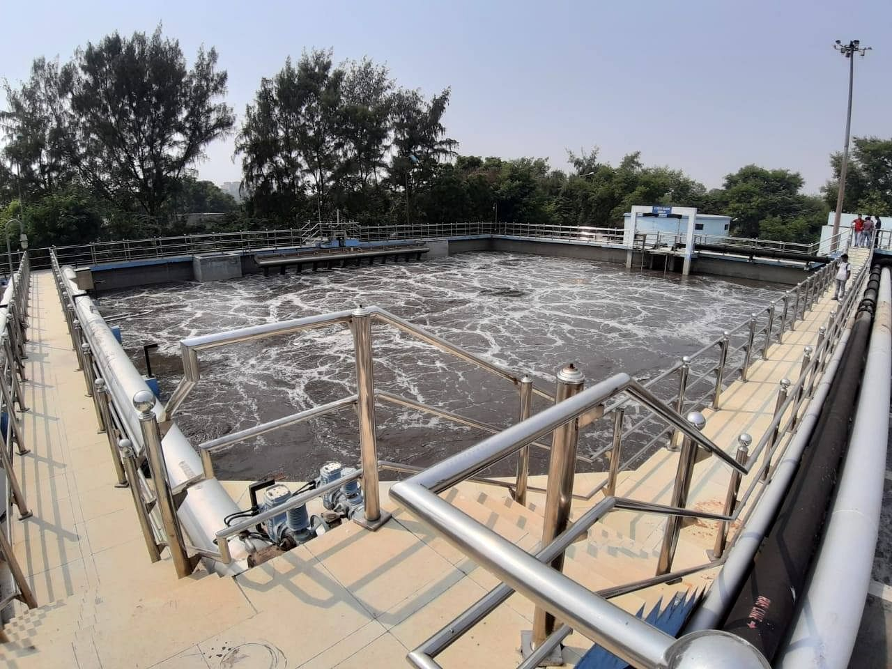 Sewage Treatment Plant at Noida, Sector 54. (Source: Facebook/DTC)