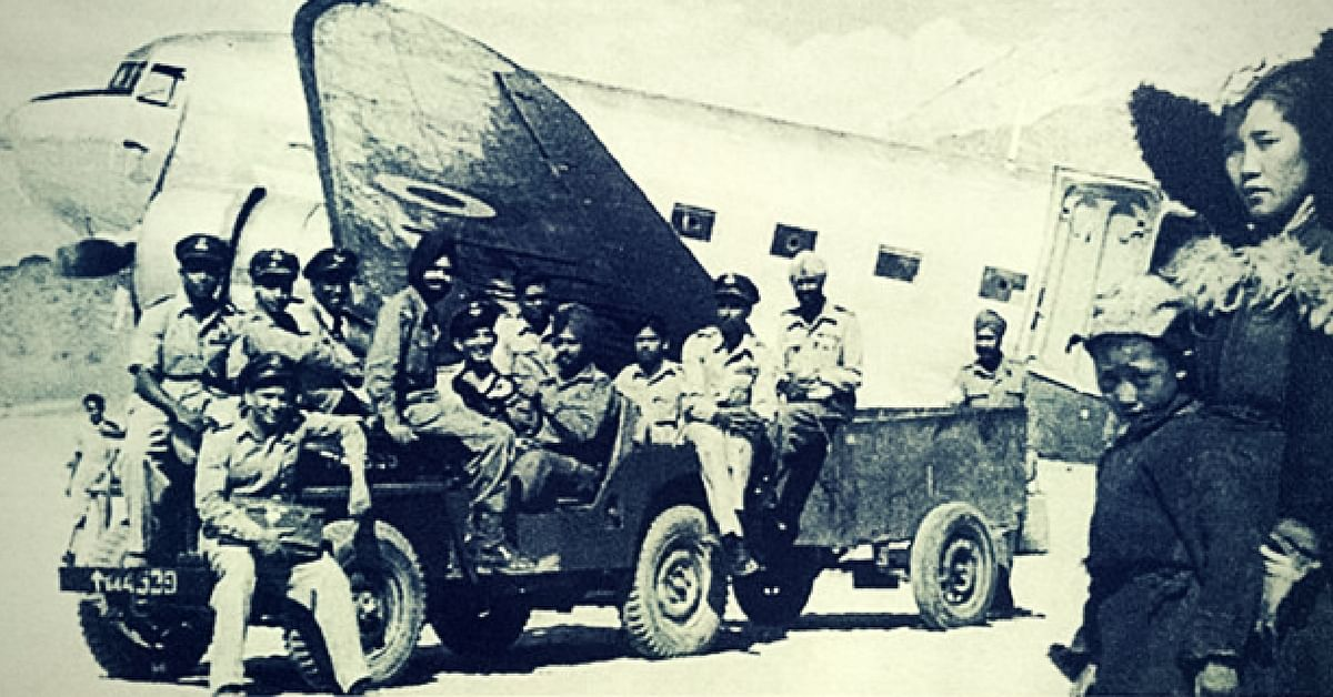 Dakota transport aircraft in Leh (Source: Facebook/Indian Air Force)