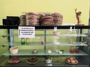Biodegradable plates. (Source: Facebook/Deputy Commissioner - East Garo Hills)