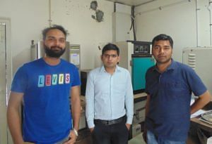 (From L to R) Gurpreet Singh, Moolchand Sharma and Dr Rahul Vaish.
