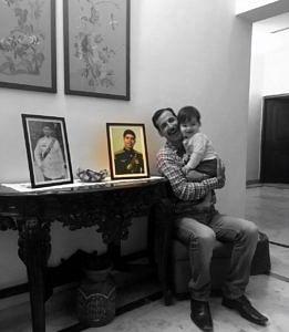 Jammu man visits family martyrs indian army heartwarming