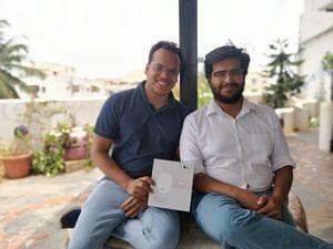 Gaurav Parchani and Mudit Dandwate. (Source: Dozee)