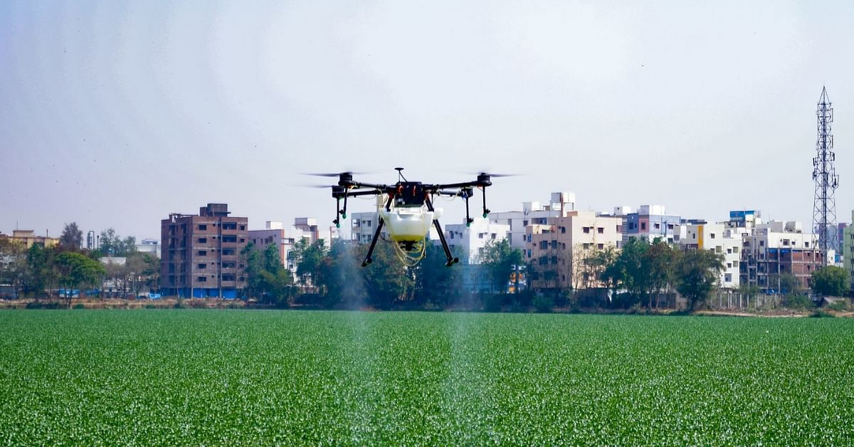 Free From Mosquitoes & Water Hyacinth: How Drones With Bio-Enzymes Are Saving Hyderabad's Lakes