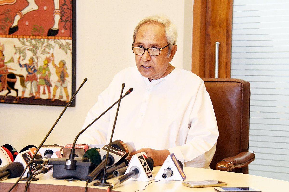 Chief Minister Naveen Patnaik. (Source: DD National/Twitter)