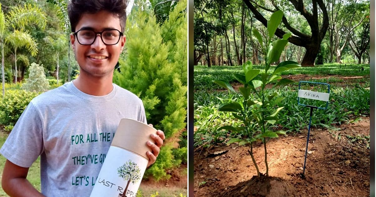 19-YO Bengalurean's Biodegradable Urns Can Turn a Loved One's Memory into a Tree