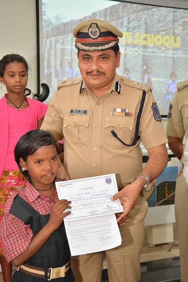 Leading efforts on the ground: Rachakonda Police Commissioner Mahesh M Bhagwat. (Source: Facebook/Asif Yar Khan)