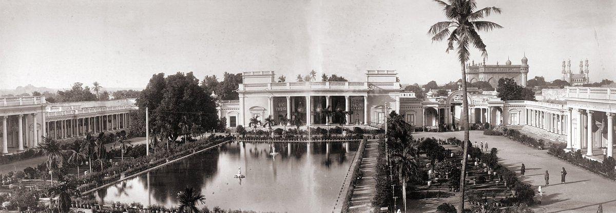 Chowmahalla Palace taken in the 1880s. (Credit: Raja Deen Dayal)
